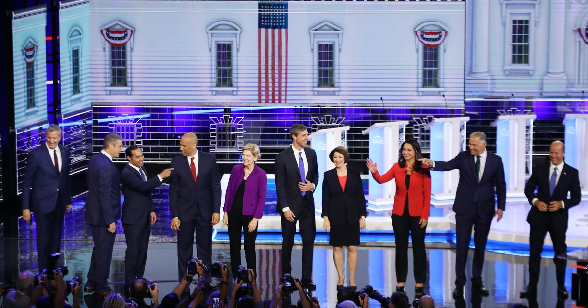 4 Times Presidential Candidates Focused On Women In The Democratic Debate