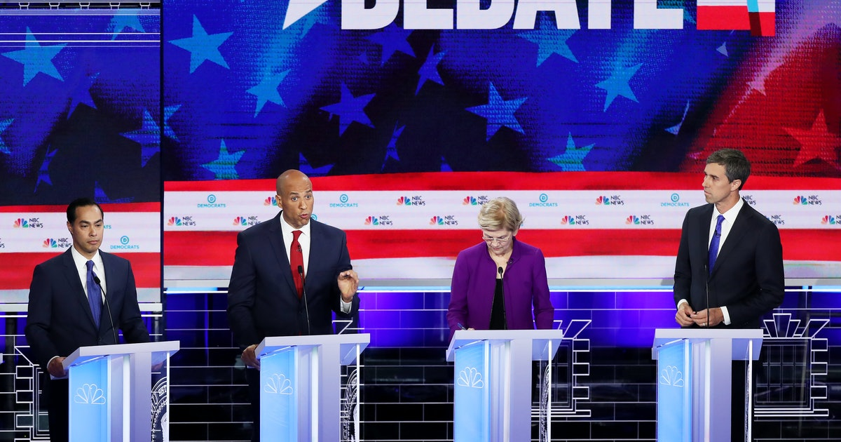 Donald Trump's Tweet During The First Democratic Debate Took Aim At An Unexpected Target