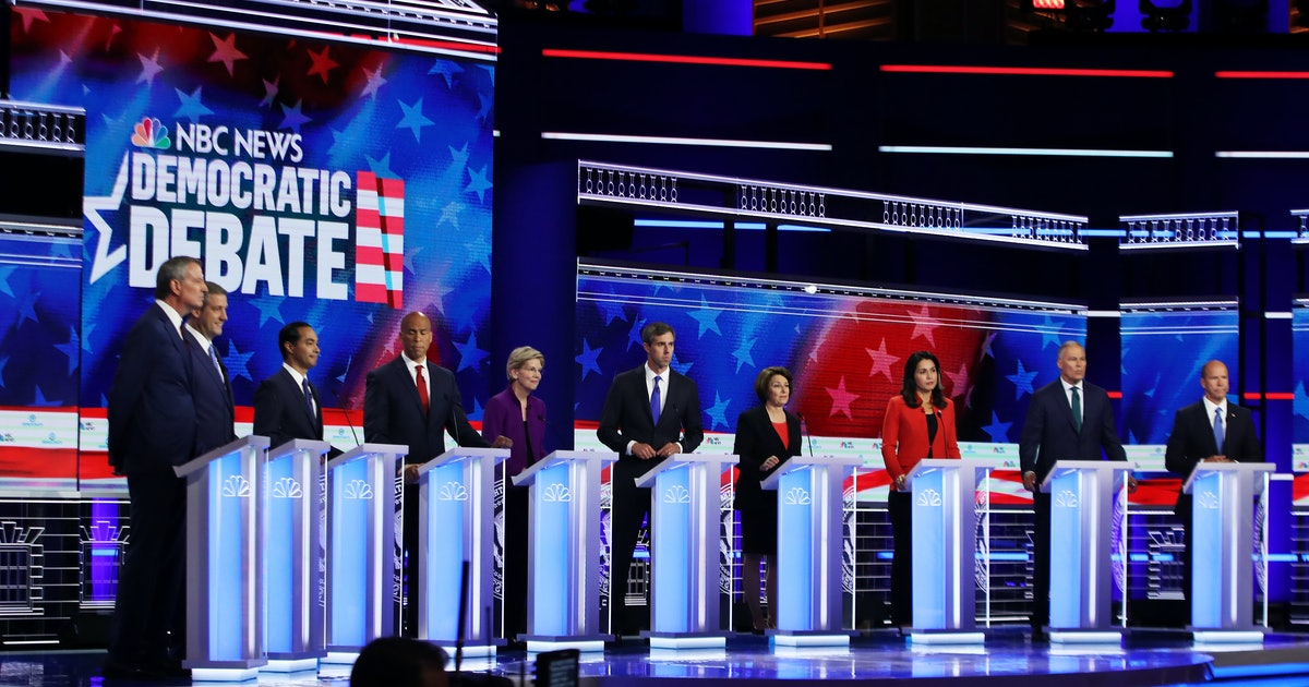 The Democratic Debate Recap You Need In Case You Missed Night One