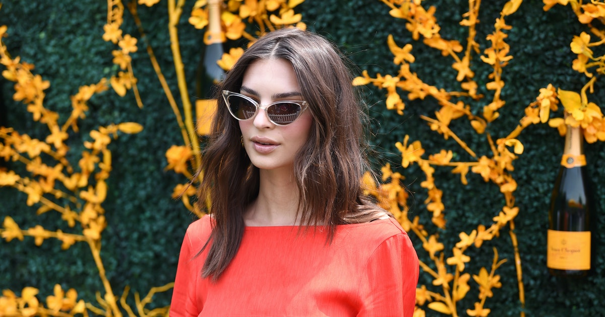 Emily Ratajkowski's Veuve Clicquot Outfit Isn't Completely Sold Out — Yet