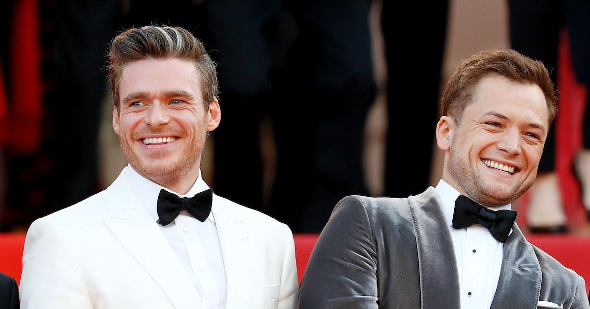 Richard Madden & Taron Egerton's Friendship Proves The 'Rocketman' Stars Are Super Close Off-Screen
