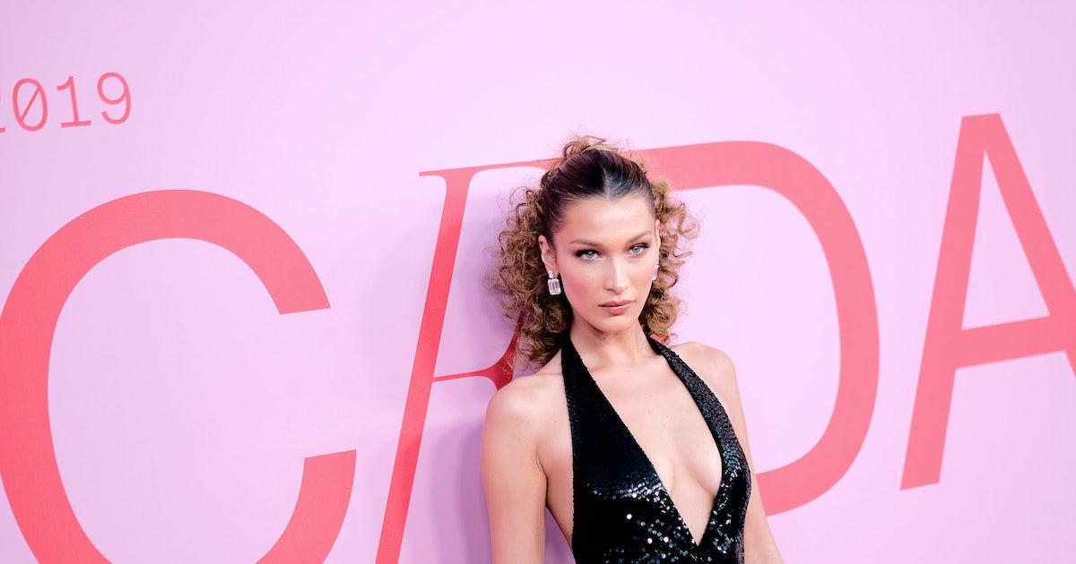 Bella Hadid's CFDA Awards Dress Was Low-Cut Perfection