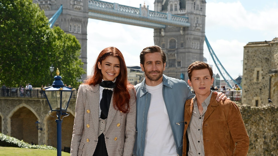 The 'Spider-Man: Far From Home' Cast Visited A Children's