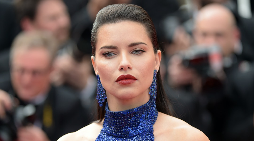 ffc53d902cf Adriana Lima's Cult Gaia Dress Takes Vacation Style To Chic New Heights