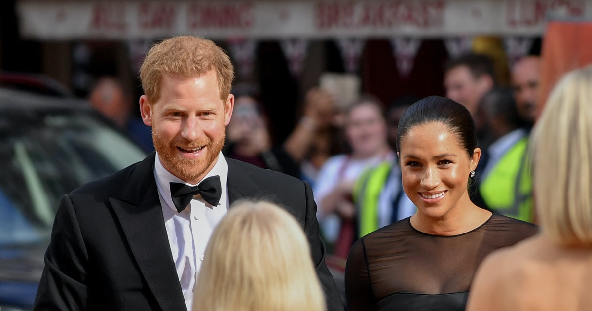 Meghan Markle's 'The Lion King' London Premiere Dress Was Super Sleek