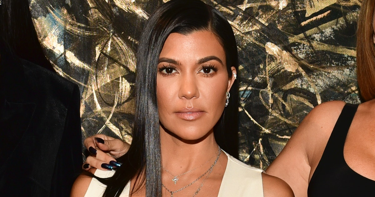 Kourtney Kardashian's Slip Dress Might Be The Solution To The Rising Summer Temps
