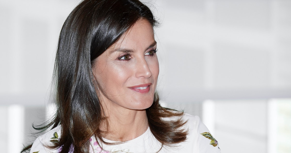 Queen Letizia's Tweed Dress Is The Hero Piece You Didn't Know You Needed