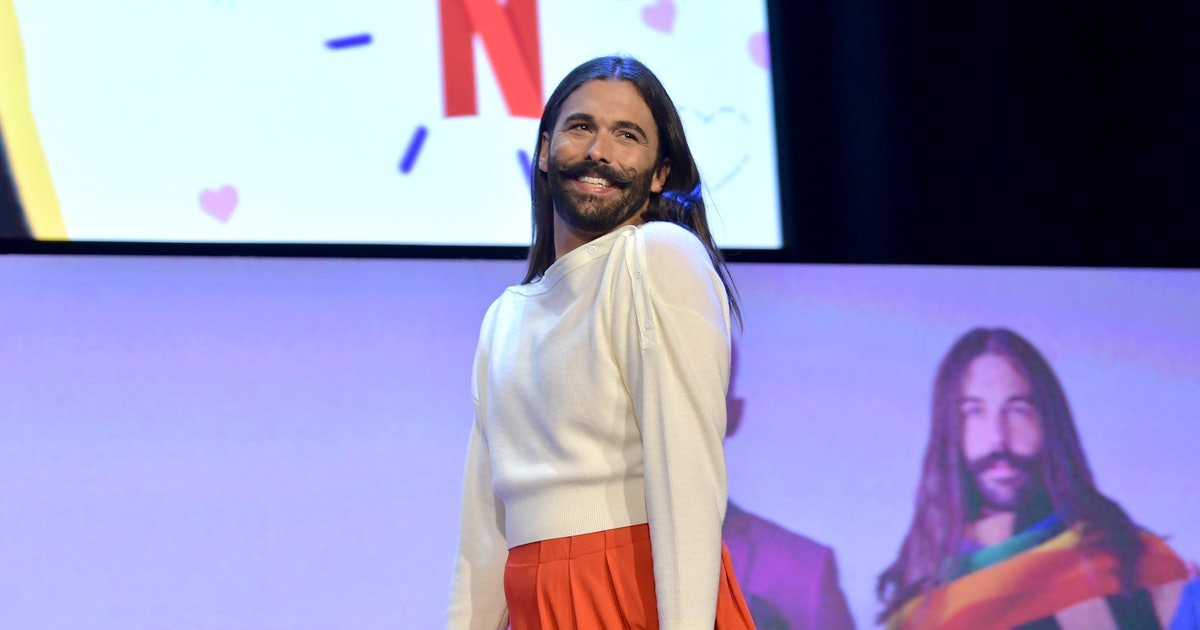 Videos Of Jonathan Van Ness Figure Skating Show He's Picked Up The Sport In Record Time