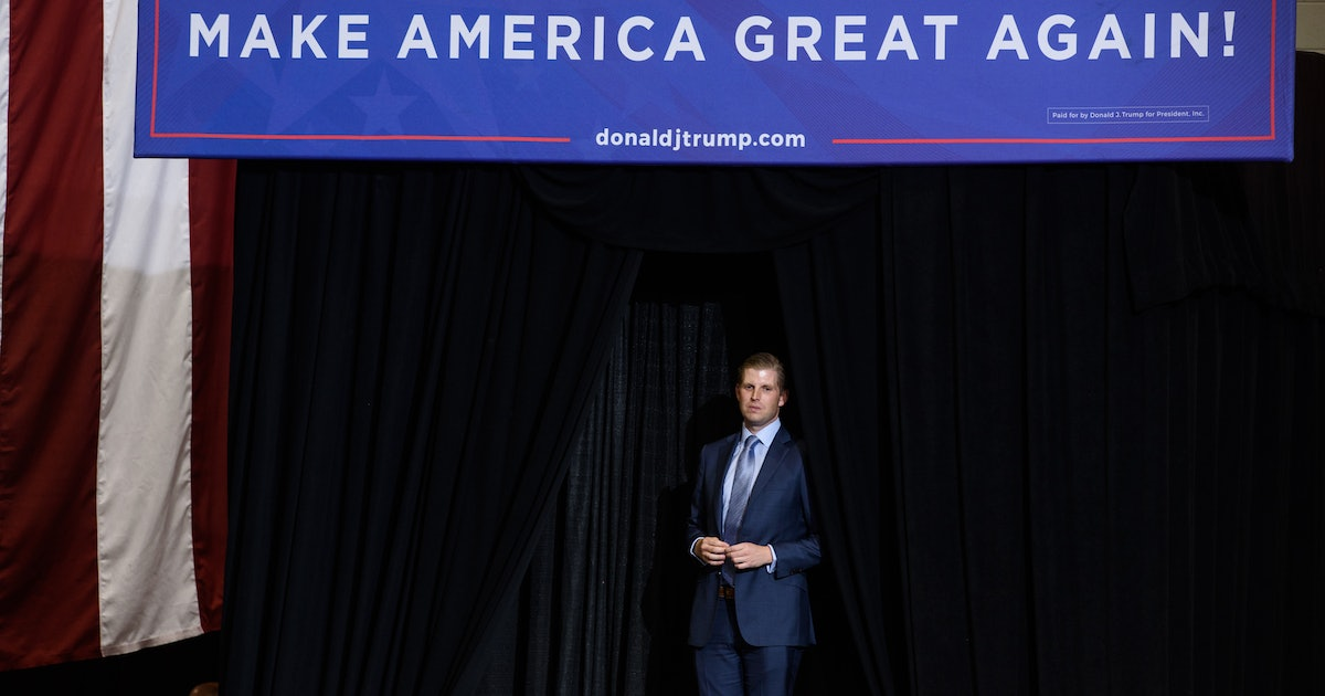 """Eric Trump Defended President Trump's """"Go Back"""" Comments With A Questionable Statistic"""
