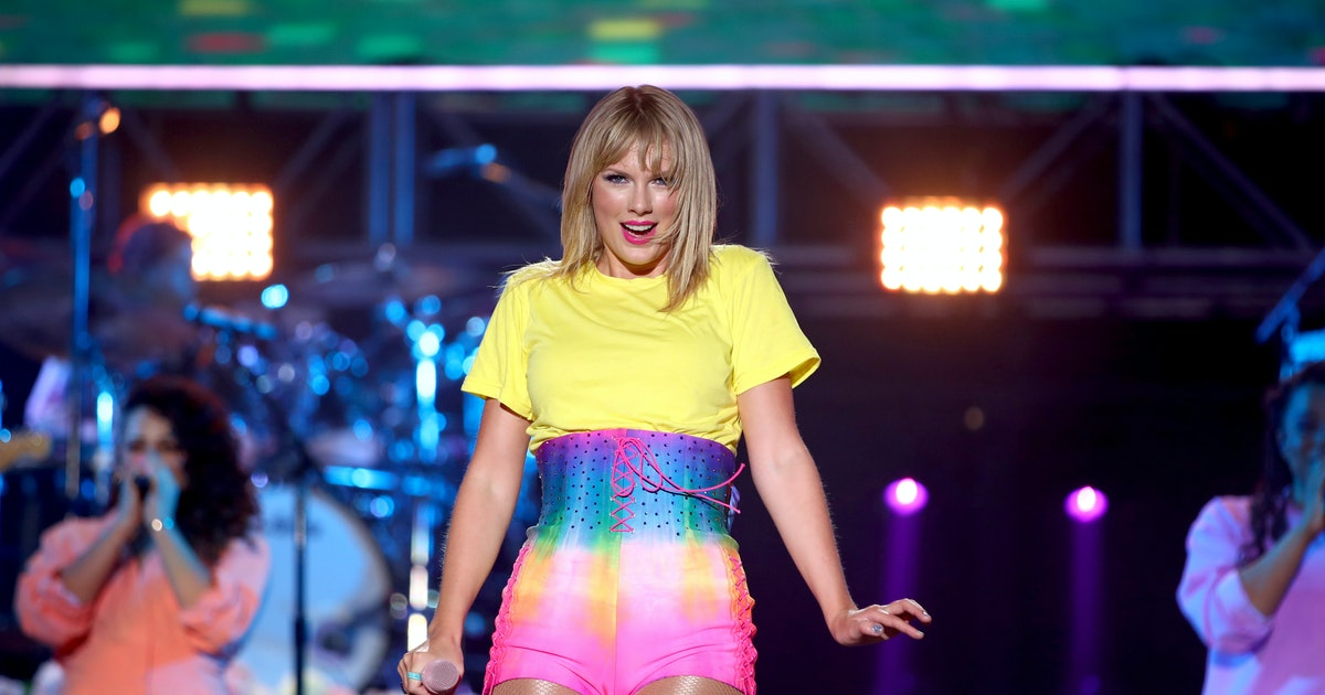 Taylor Swift's 'Lover' Merch Is A Rainbow Of Pastels PERFECT For Summer