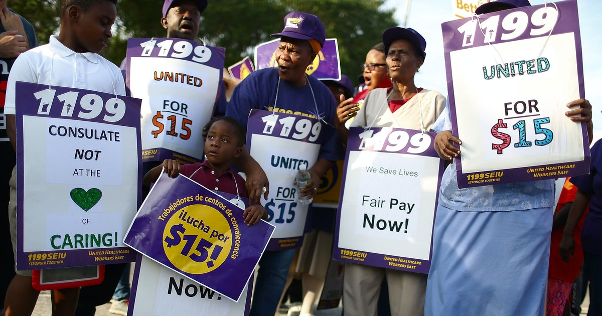 What Would Happen With A $15 Minimum Wage? The House Passed The Raise The Wage Act