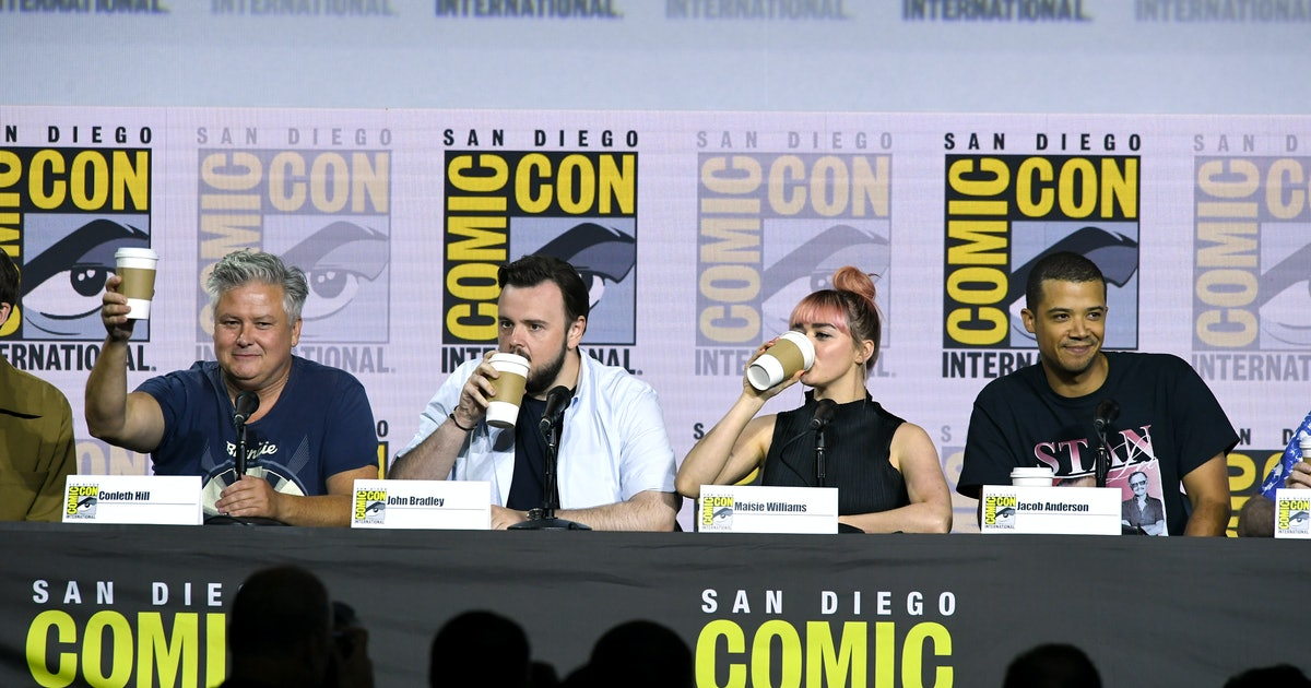 The 'Game Of Thrones' Cast Trolled Everyone At SDCC With Coffee Cups