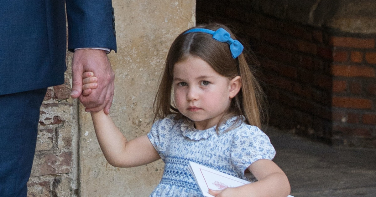 Princess Charlotte's Unicorn Purse Marks The Royal's First Ever Statement Bag
