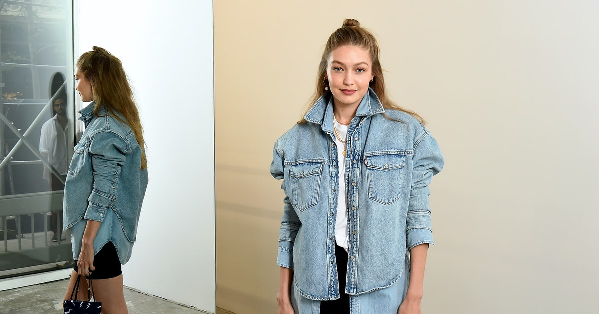 Gigi Hadid's Dad Shirt Is Dressed Up In The Most Perfect Way