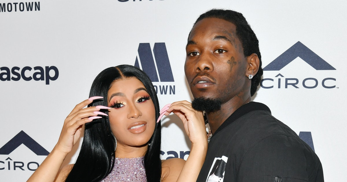 "Cardi B S 8 Tattoos Their Meanings: This Photo Of Cardi B's ""Offset"" Tattoo Got The Sweetest"