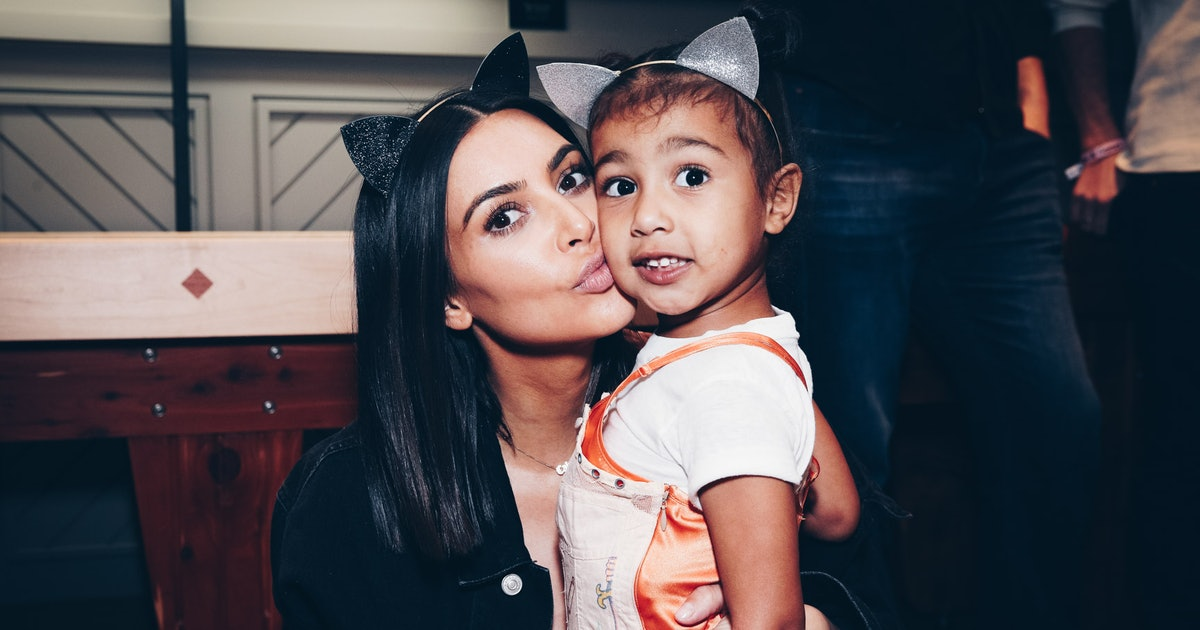 This Photo Of North West With A Nose Ring At MJ's 85th Birthday Party Is Style Goals