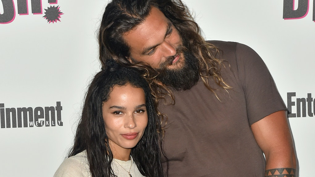 Jason Momoa S Comment On Zoe Kravitz S Photo Of Her Husband