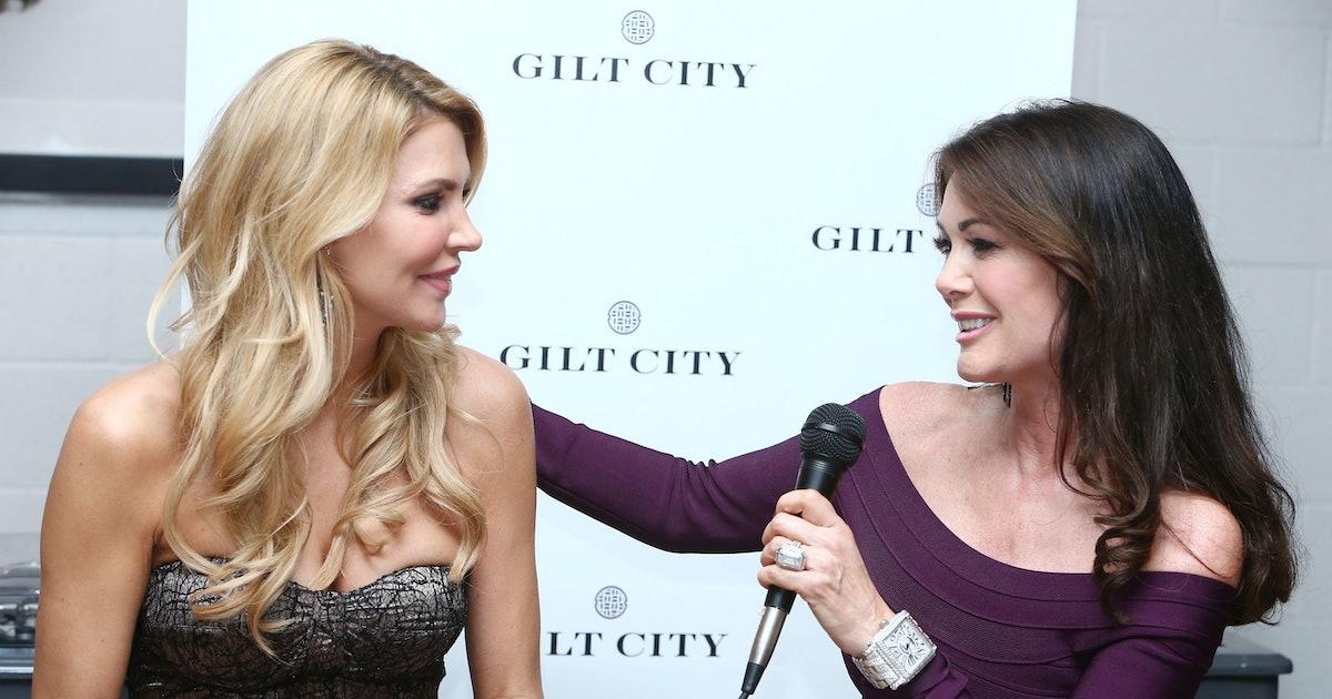 Lisa Vanderpump's Response To Brandi Glanville's 'RHOBH' Return Rumors Show She's Done With The Show