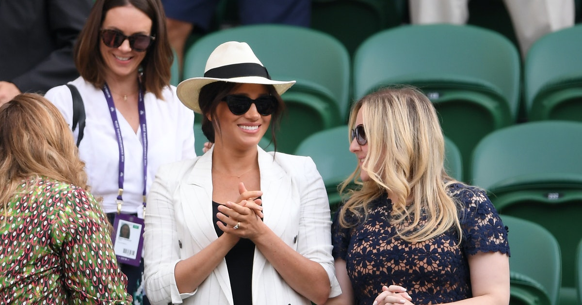 Meghan Markle makes surprise Wimbledon appearance to watch friend Serena Williams