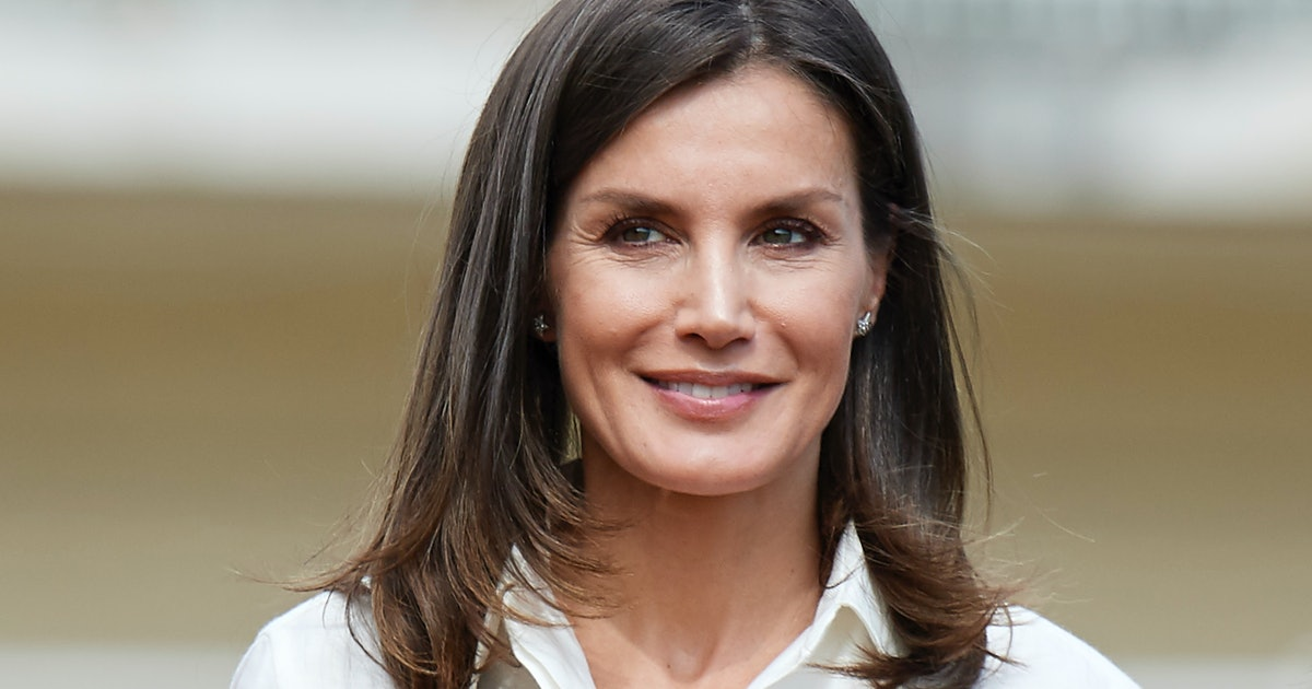 Queen Letizia's Hot-Pink Dress Is An Elegant Approach To The Neon Trend