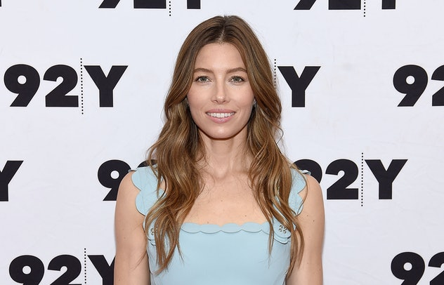 Jessica Biel is the mom of two.