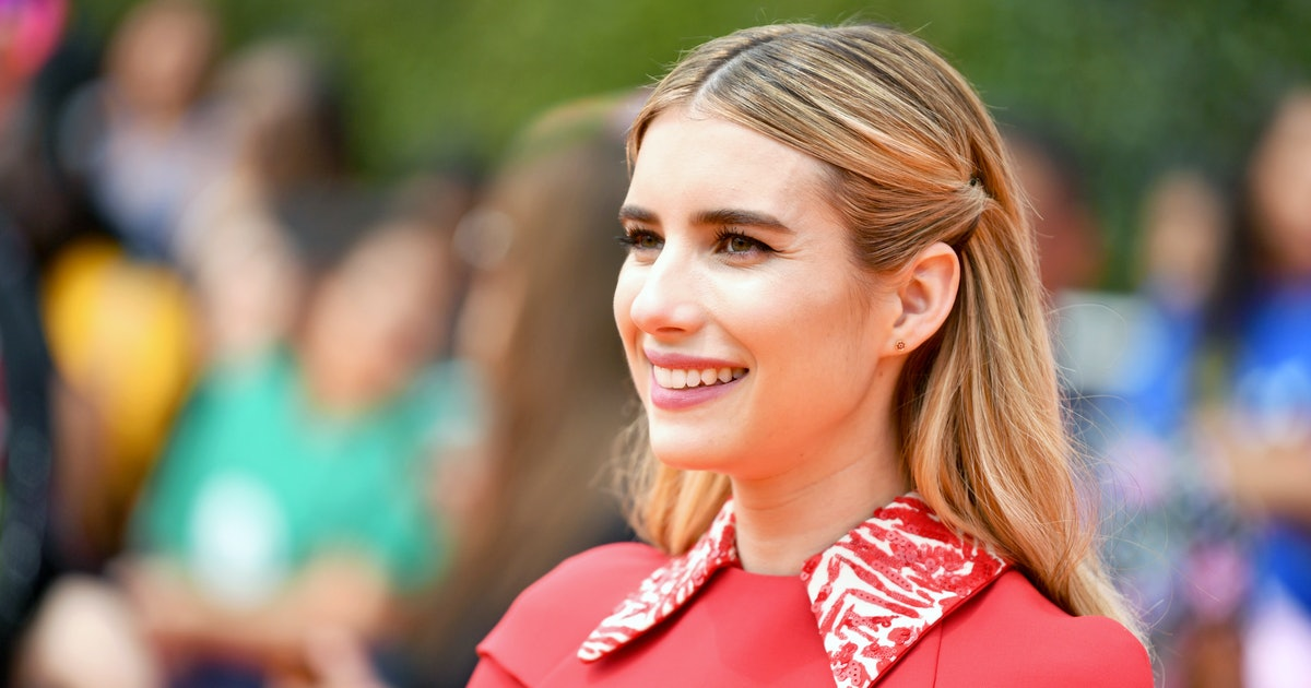 Emma Roberts' Smocked Midi Dress Will Keep You Cool On The Hottest Summer Days