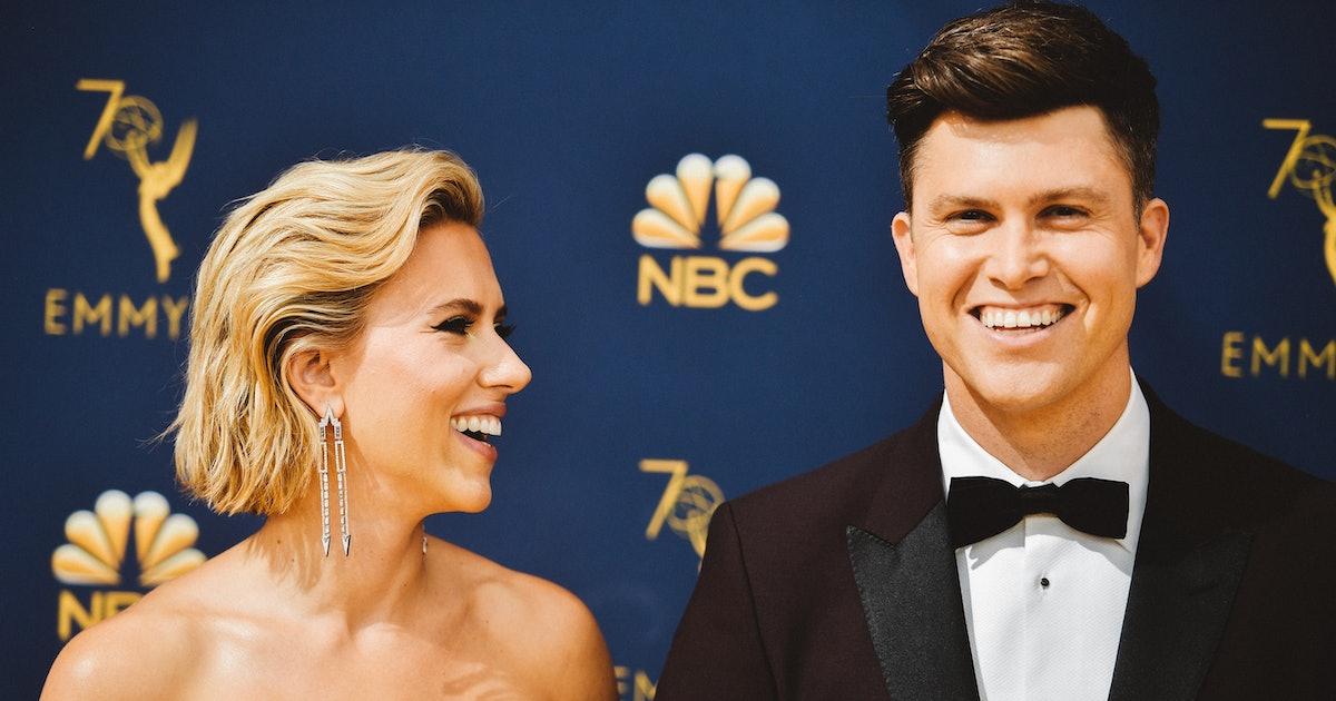 Scarlett Johansson & Colin Jost's Body Language Is So Adorable