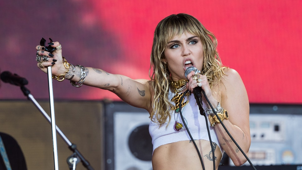 Miley Cyrus' Studio Photo Hints New Music Is On The Way After Her