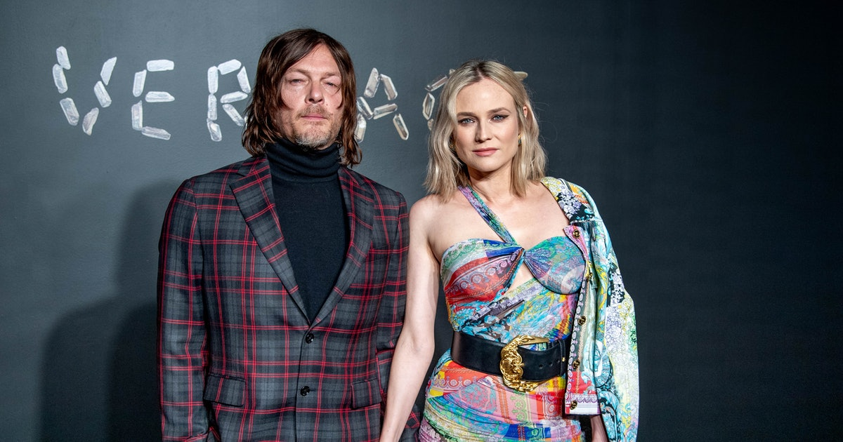 Photo Of Diane Kruger's Baby Daughter With Norman Reedus Is A Rare Peek At Their Sweet Family