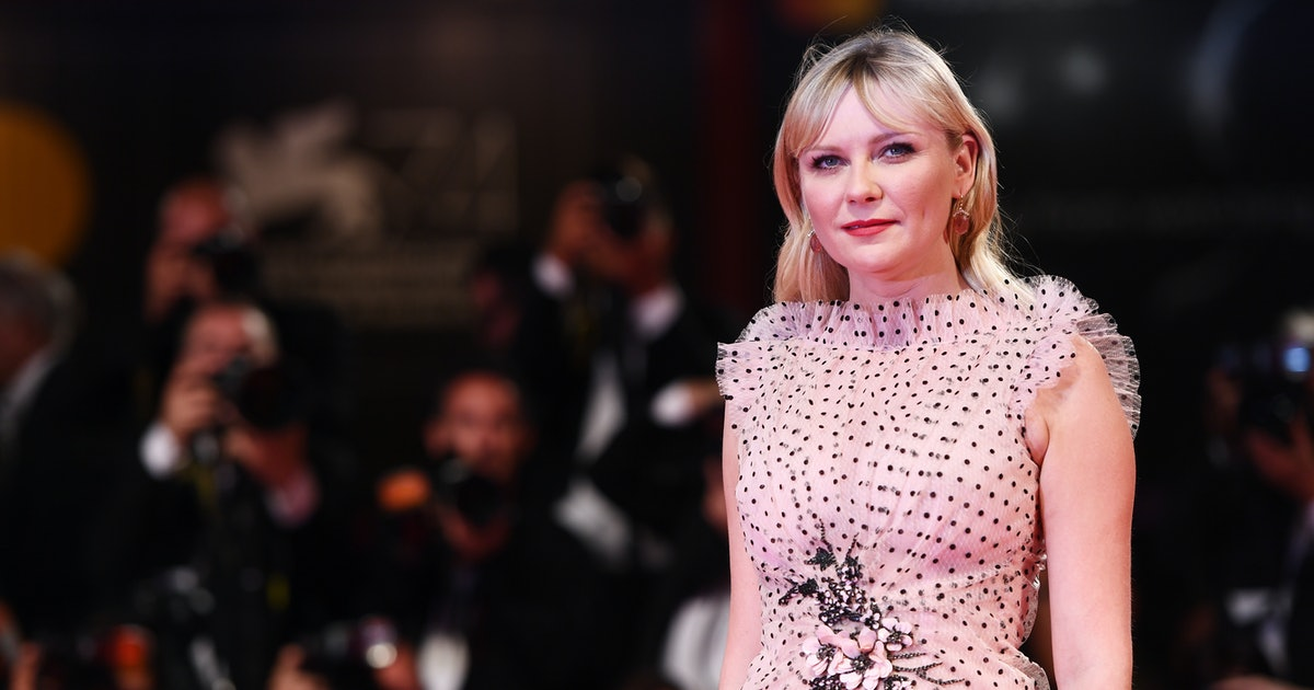 Kirsten Dunst's Half-Up Hairstyle Is Worth Adding To Your Rotation Immediately