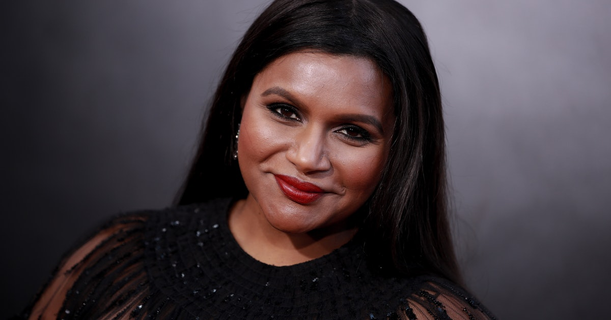 Mindy Kaling & Her Daughter Kit Rock Sparkling, Twinning Shoes In This Sweet New Photo