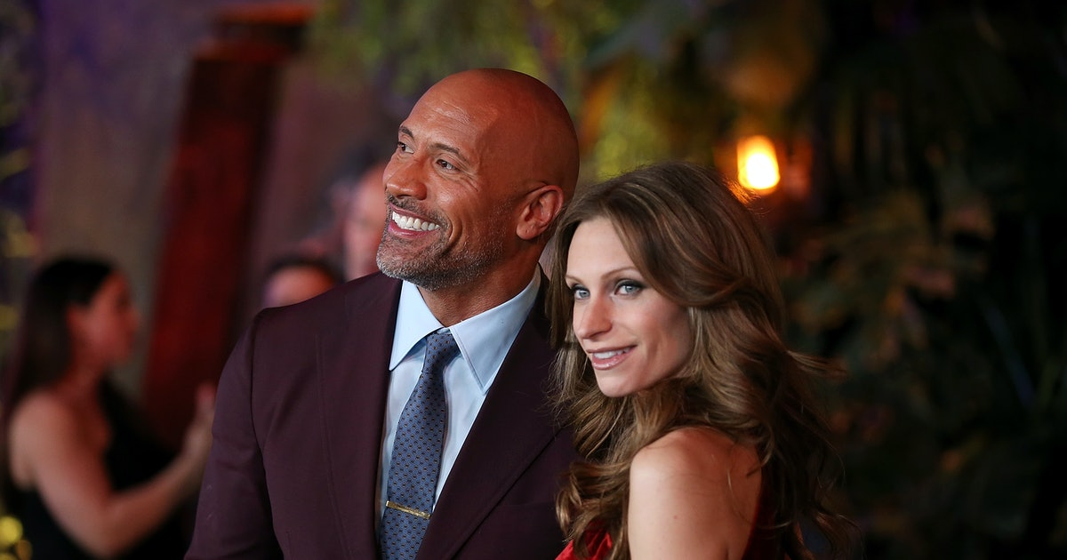 The Rock & Lauren Hashian Got Married After More Than A Decade Together