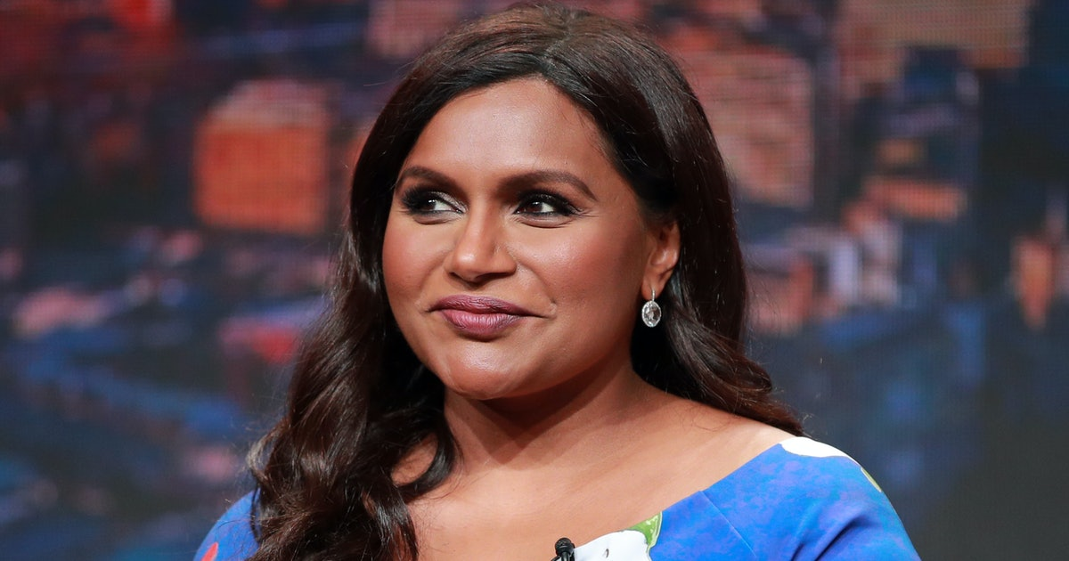 Mindy Kaling's Glitter Shoes Match Her Daughter's Because Mother-Daughter Twinning Is Forever A Vibe