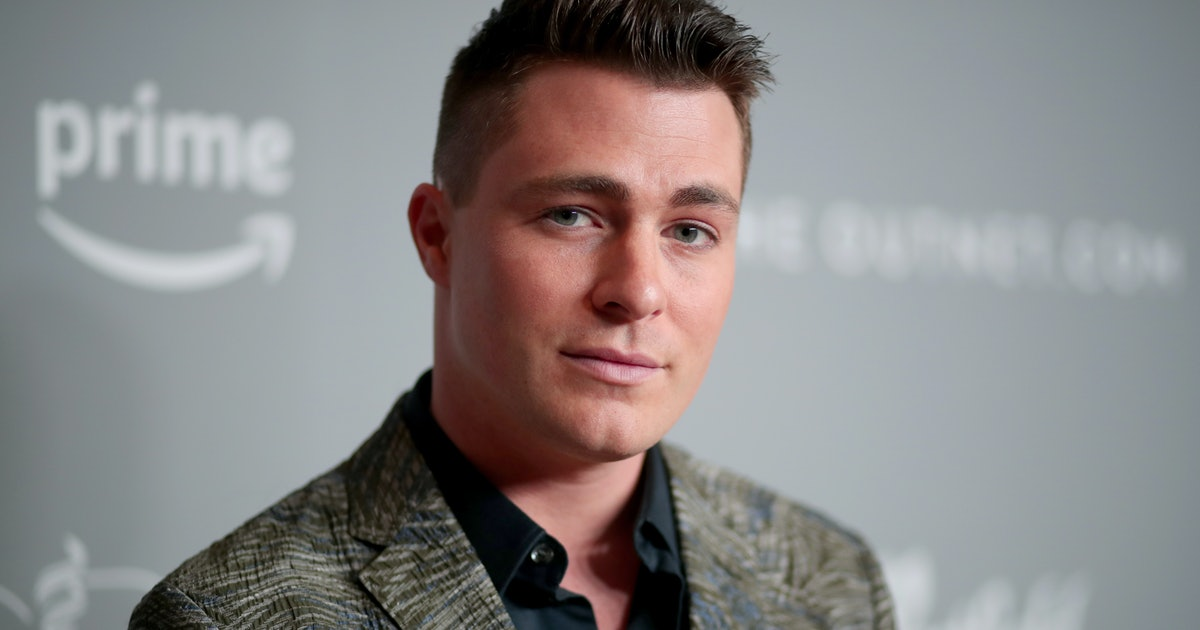 Colton Haynes' Hospital Instagram Shares An Important Message About Substance Use
