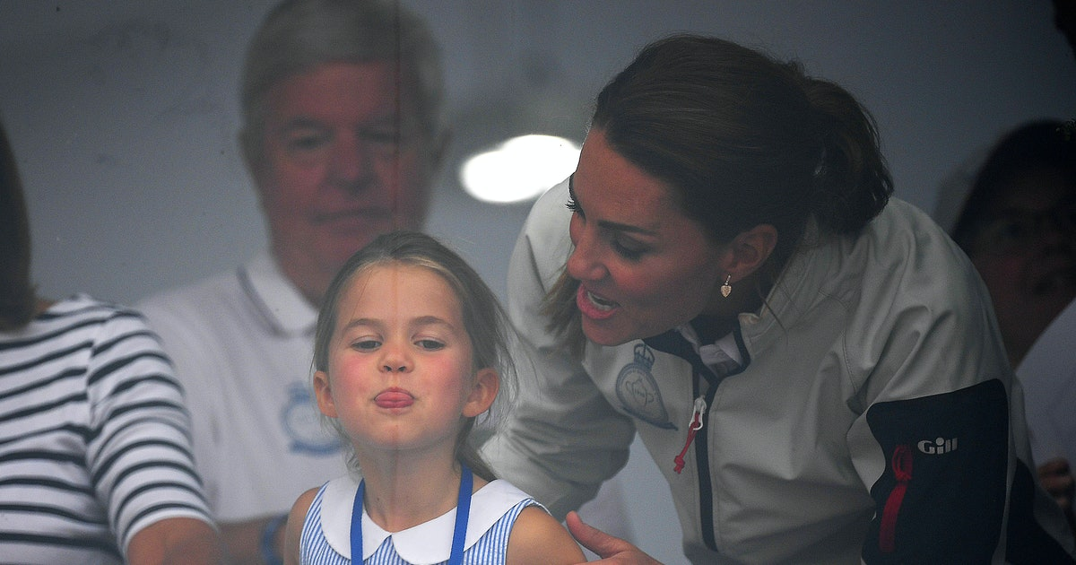 Princess Charlotte's Relationship With Her Middleton Grandparents Seems Relaxed & Oh So Adorable