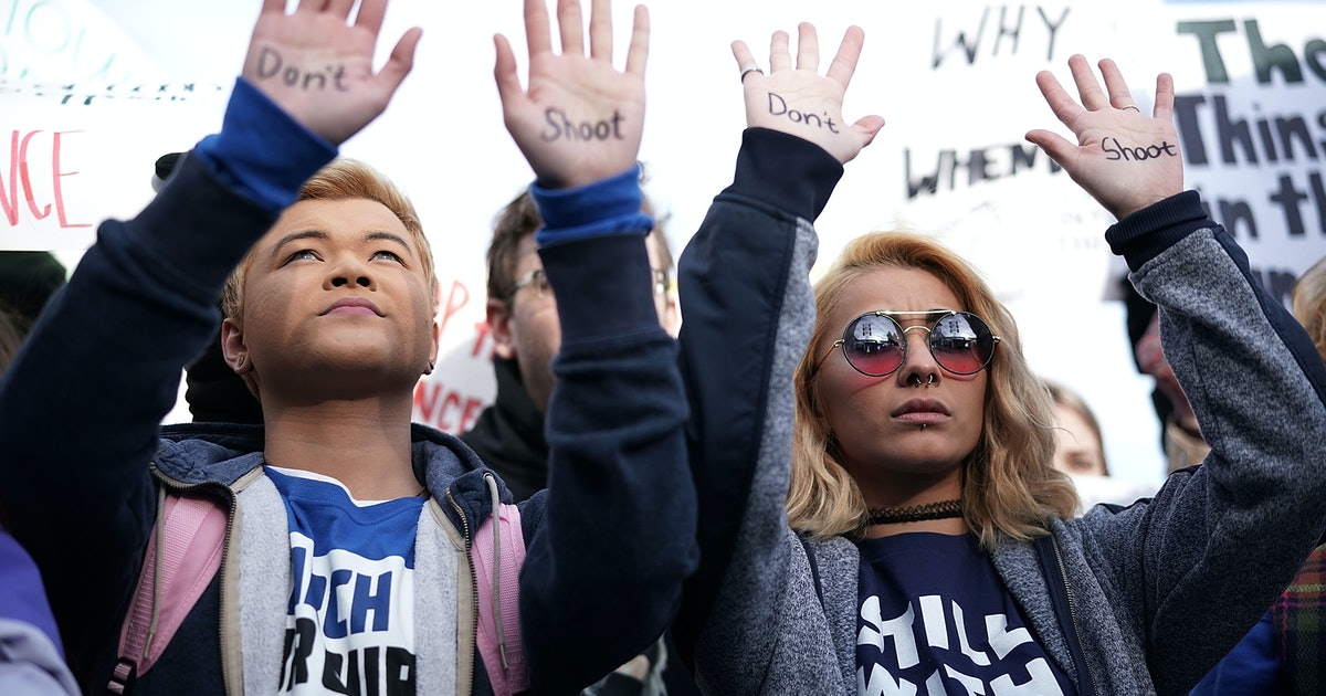 March For Our Lives' Peace Plan Would Ensure You Don't Live In Fear Of Gun Violence