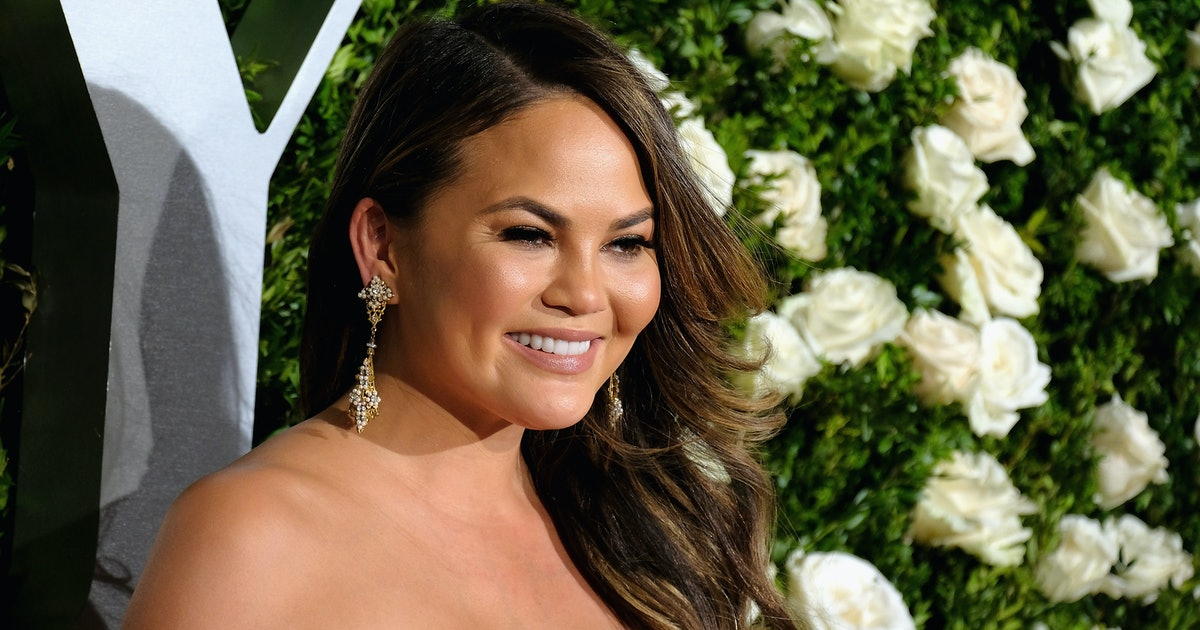 Chrissy Teigen's Headband Of The Day Series Is Back & No, This Is Not A Dream