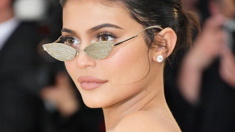 Kylie Jenner S Retro Ponytail At Travis Scott S Netflix