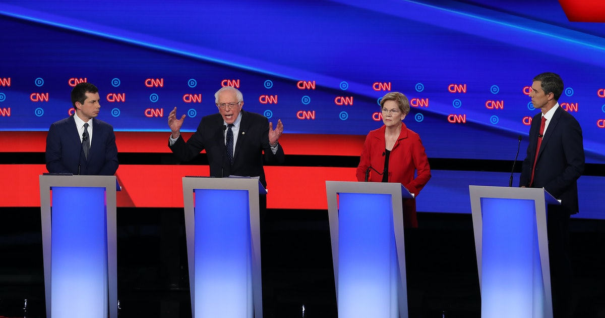 Who Qualified For The Sept. 12 Democratic Debate? It's Down To 10 Candidates