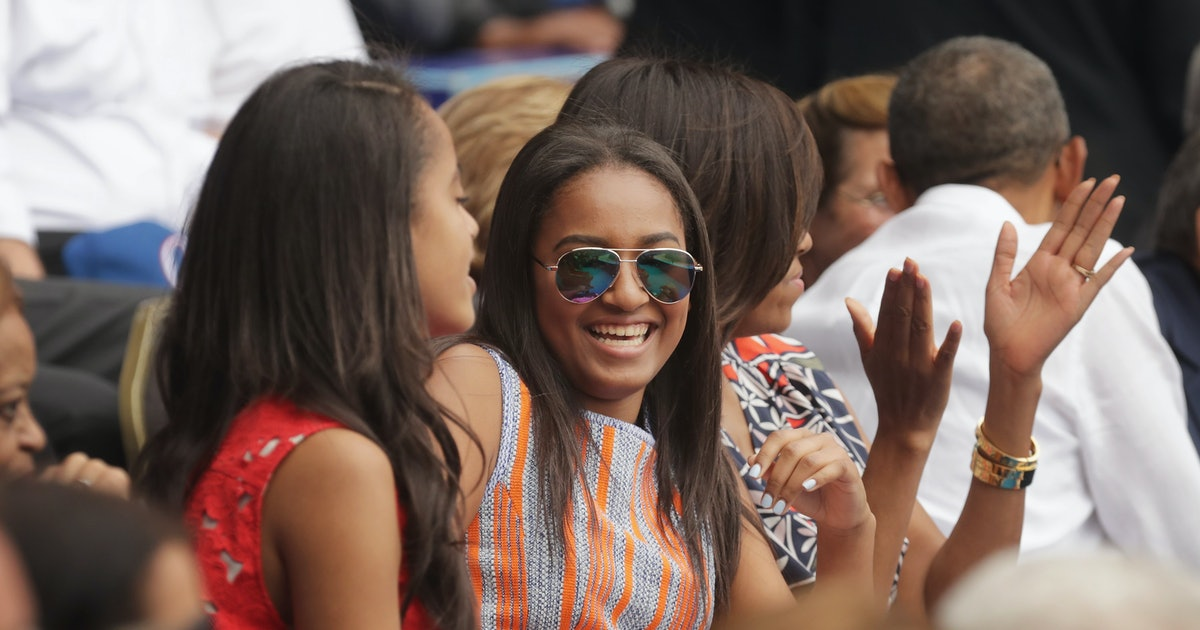 Is Sasha Obama Going To College? The Obamas' Youngest Daughter Is Reportedly Heading To Michigan