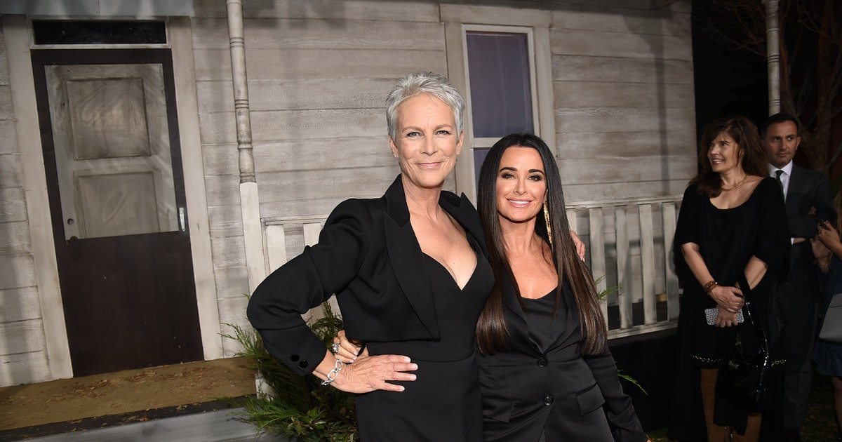 Kyle Richards' 'Halloween Kills' Role Has The Support Of Her 'RHOBH' Co-Stars