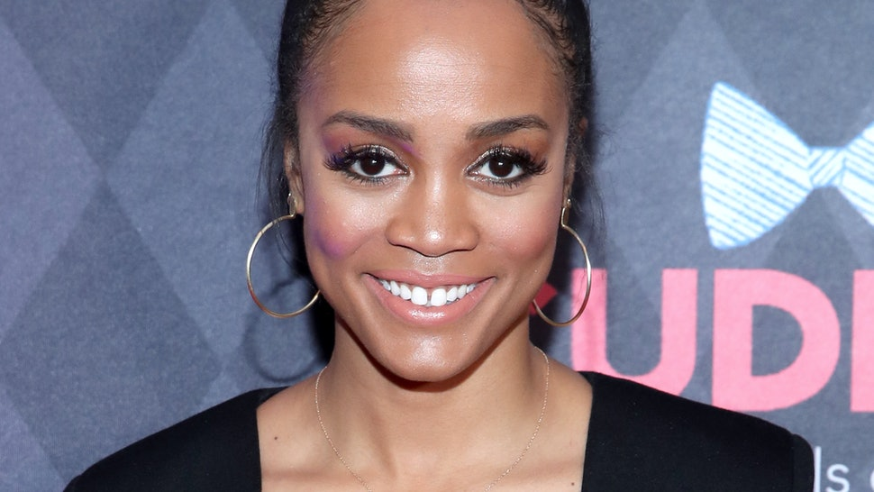 """WESTLAKE VILLAGE, CALIFORNIA - MARCH 16: Rachel Lindsay   arrives to the 5th Annual Ties & Tails Gala, """"Mardi Paws"""" at Four Seasons Westlake Village on March 16, 2019 in Westlake Village, California. (Photo by Randy Shropshire/Getty Images for Paw Works)"""