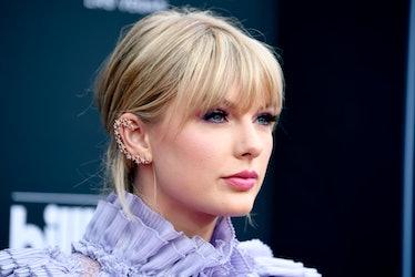 LAS VEGAS, NEVADA - MAY 01: Taylor Swift attends the 2019 Billboard Music Awards at MGM Grand Garden...