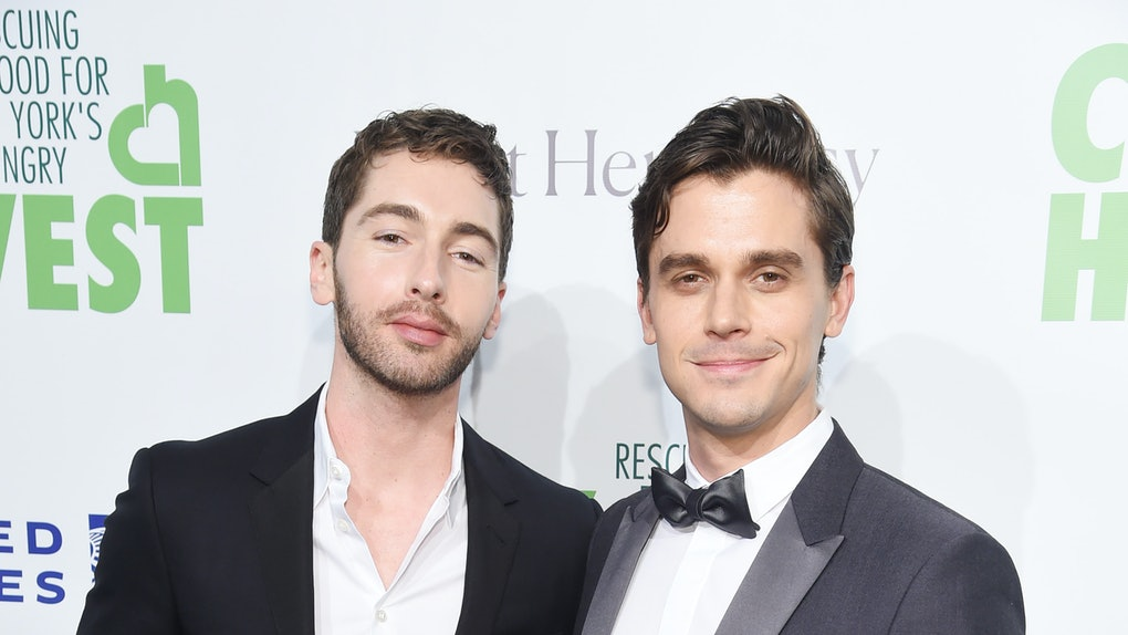 NEW YORK, NEW YORK - APRIL 30:  Trace Lehnhoff and Antoni Porowski attend City Harvest: The 2019 Gala on April 30, 2019 at Cipriani 42nd Street in New York City. (Photo by Jamie McCarthy/Getty Images for City Harvest)