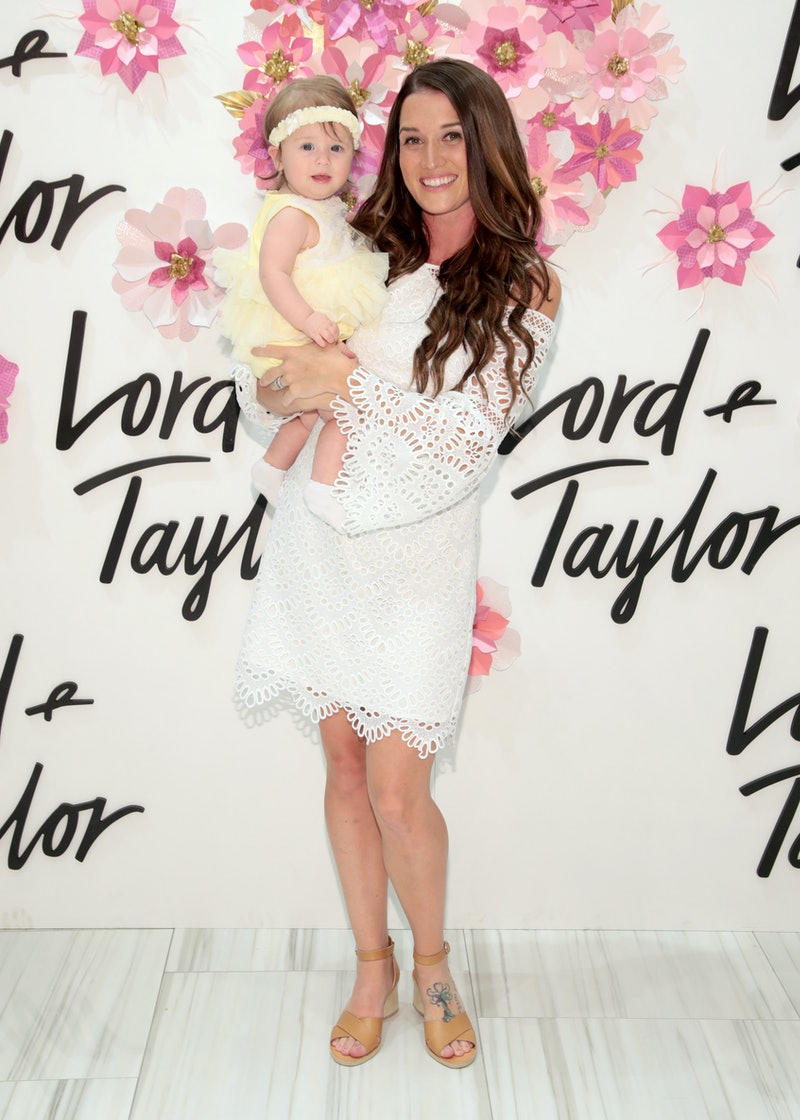 NEW YORK, NY - APRIL 26:  Jade Tolbert and daughter Emerson Tolbert (C) Celebrate Mother's Day At Lord & Taylor Fifth Avenue on April 26, 2018 in New York City.  (Photo by Cindy Ord/Getty Images for Lord & Taylor)