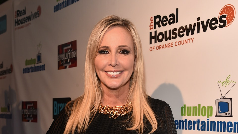 "HOLLYWOOD, CA - JUNE 16:  TV personality Shannon Beador attends the premiere party for Bravo's ""The Real Housewives of Orange County"" 10 year celebration  at Boulevard3 on June 16, 2016 in Hollywood, California.  (Photo by Alberto E. Rodriguez/Getty Images)"