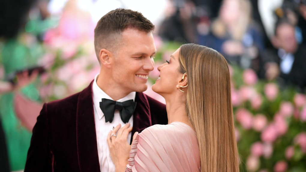 NEW YORK, NEW YORK - MAY 06: Tom Brady and Gisele Bundchen attend The 2019 Met Gala Celebrating Camp: Notes on Fashion at Metropolitan Museum of Art on May 06, 2019 in New York City. (Photo by Neilson Barnard/Getty Images)