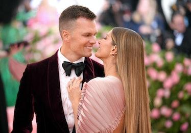 NEW YORK, NEW YORK - MAY 06: Tom Brady and Gisele Bundchen attend The 2019 Met Gala Celebrating Camp...