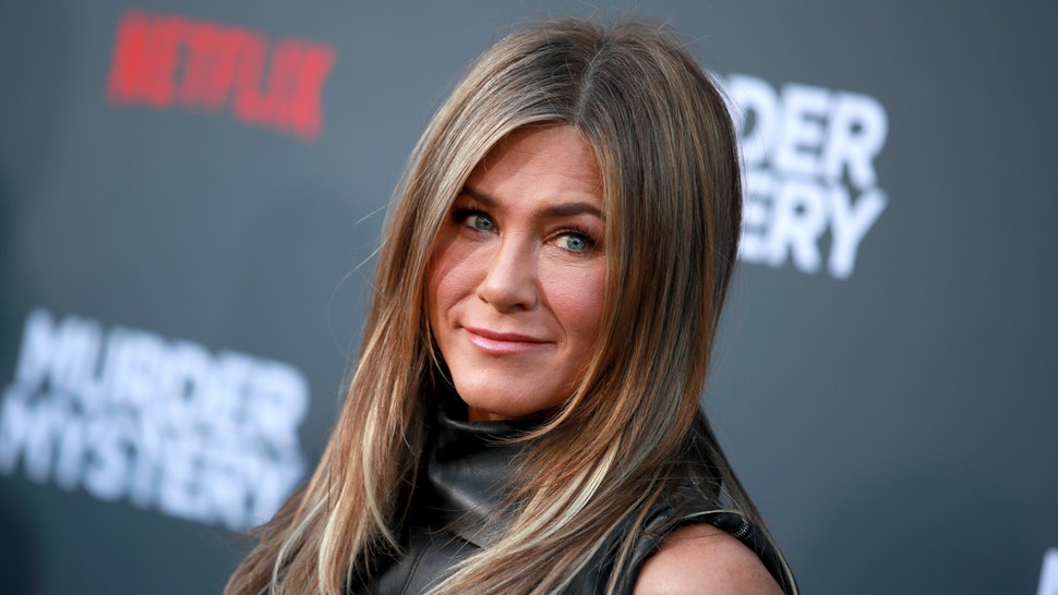 """WESTWOOD, CALIFORNIA - JUNE 10: Jennifer Aniston attends the LA premiere of Netflix's """"Murder Mystery"""" at Regency Village Theatre on June 10, 2019 in Westwood, California. (Photo by Rich Fury/Getty Images)"""
