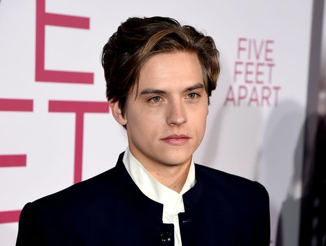 "LOS ANGELES, CALIFORNIA - MARCH 07: Dylan Sprouse arrives at the premiere of CBS Films' ""Five Feet Apart"" at the Fox Bruin Theatre on March 07, 2019 in Los Angeles, California. (Photo by Kevin Winter/Getty Images)"